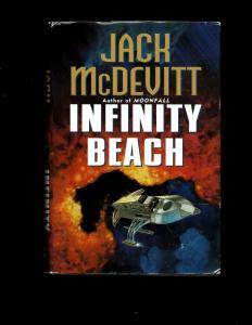 Infinity Beach HARDCOVER Novel Jack McDevitt Harper Prism Book Sci-Fi J381