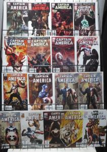 CAPTAIN AMERICA by ED BRUBAKER COLLECTION! 17 BOOKS- Winter Soldier, Falcon