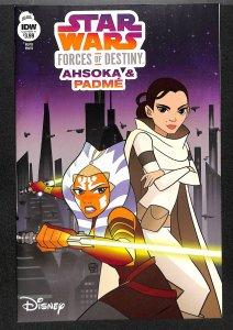 Star Wars: Forces Of Destiny - Ahsoka & Padme #1 NM- 9.2 Ahsoka Tano!