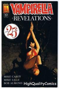 VAMPIRELLA REVELATIONS #0, NM-, Vampire, Joe Jusko, 2005, more Vampire in store