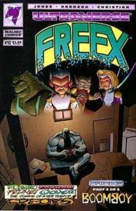 FREEX 1-10 TEEN SUPERHEROES IN THE ULTRAVERSE!