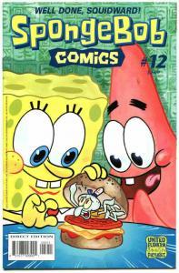 SPONGEBOB #12, VF, Square pants, Bongo, Cartoon comic, 2011 more in store
