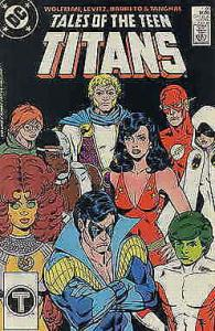 Tales of the Teen Titans #91 FN; DC | save on shipping - details inside