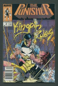 Punisher #14  / 9.2 NM-  Newsstand  December 1988