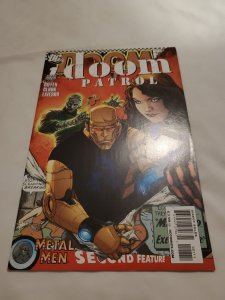 Doom Patrol 1 Near Mint Cover by Matthew Clark