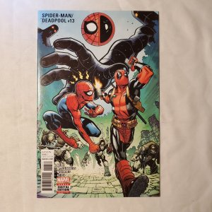 Spider-Man Deadpool 13 Very Fine+ Cover by Ed McGuinness