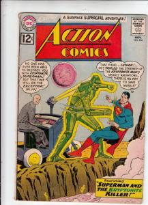 Action Comics #294 (Nov-62) VG/FN Mid-Grade Superman, Supergirl