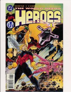 DC The World Needs Heroes #1 ~ DC Comics 1996 ~ VF/NM (HX522)