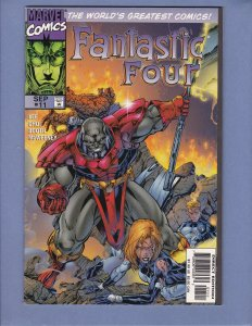 Fantastic Four #11 FN Galactus Silver Surfer Terrax Marvel 1997