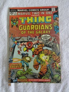 MARVEL TWO-IN-ONE #5 THE THING / GUARDIANS OF THE GALAXY