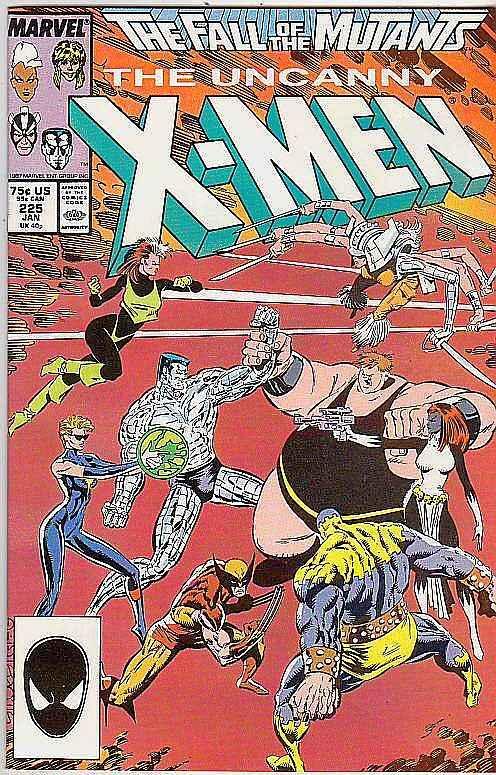 X-Men #225 (Jan-88) NM/NM- High-Grade X-Men