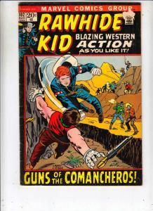 Rawhide Kid #102 (Aug-72) FN- Mid-Grade Rawhide Kid
