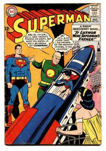 Superman #170 1964-DC comics  Lex Luthor- JFK Kennedy story vg