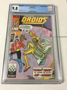 Droids 3 Cgc 9.8 Ow/w Pages
