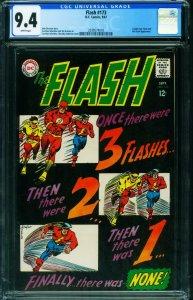 THE FLASH #173 CGC 9.4 1967-DC COMICS-INFANTINO-2039574018