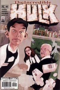 INCREDIBLE HULK (1999 MARVEL) #40 NM- AGSMNP