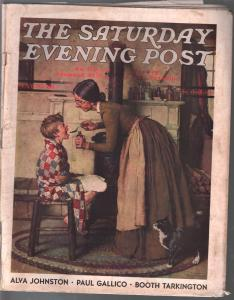Saturday Evening Post  5/30/1936-Norman Rockwell cover-complete magazine-VG