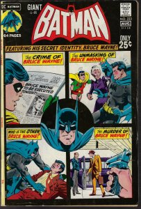 Batman #233 (DC, 1971) VG+