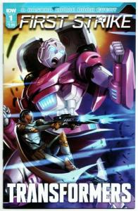 Transformers First Strike #1 Cvr A (IDW, 2017) VF
