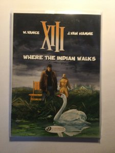 Where The Indian Walks The Day Of the Black Sun Near mint nm Cinebook