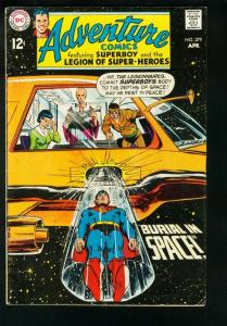 ADVENTURE COMICS #379 1969-NEAL ADAMS-SUPERBOY-LEGION SUPER HEROES-FN