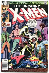 X-MEN #132 1980--MARVEL COMICS-HELLFIRE CLUB-NEWSSTAND fn