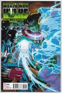 Incredible Hulk   vol. 1   #609 FN/VF (World War Hulks)