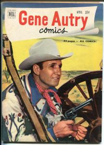 Gene Autry #50 1951-Dell-photo covers-western adventure-FN/VF