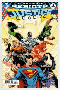 Justice League #1 Rebirth Variant Cvr (DC, 2016) NM