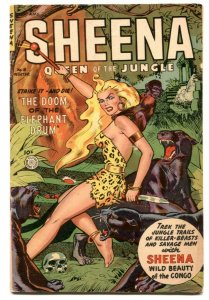 Sheena #18 1952-USED IN POP-Fiction House Jungle Comic VG