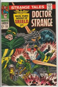 Strange Tales #155 (Apr-67) VF/NM High-Grade Nick Fury, Dr. Strange