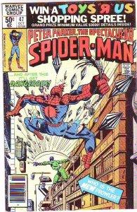 Spider-Man, Peter Parker Spectacular #47 (Oct-81) FN Mid-Grade Spider-Man