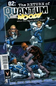 Q2: The Return of Quantum and Woody #5A VF/NM; Valiant   save on shipping - deta