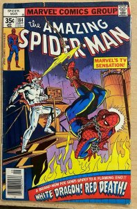THE SPECTACULAR SPIDER-MAN #28 (Marvel,2/1979) VF  FRANK MILLER on Daredevil