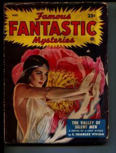 Famous Fantastic Mysteries-Pulp-8/1949-Margaret St. Clair-E. Charles Vivian