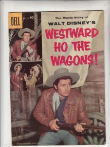 Four Color #738 (Aug-56) VF+ High-Grade Western
