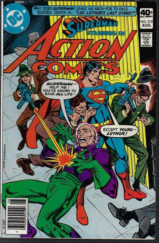 Action Comics #510 (DC, 1980) VF/NM