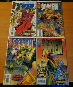 The Astonishing X-Men 1-4 Complete Set Run! ~ NEAR MINT NM ~ 1995 Marvel Comics
