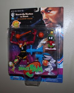 Michael Jordan Space Jam: Marvin Martian vs Nawt Figure MOC  1996
