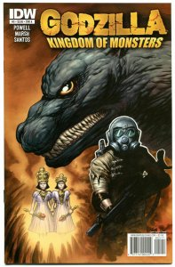 GODZILLA Kingdom of Monsters #5 A, NM, Eric Powell, 2011, more Horror in store