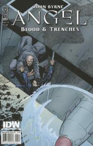 Angel: Blood & Trenches #4 VF/NM; IDW | save on shipping - details inside