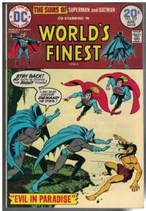WORLDS FINEST 222 VG April 1974