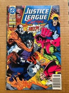 Justice League Europe #34 (1992)