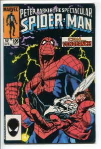 SPECTACULAR SPIDER-MAN (1976 MARVEL) #106 FN/VF NM