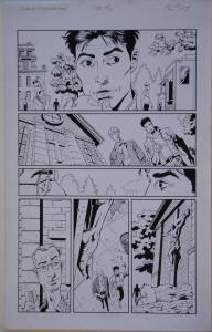 PAUL GULACY, CHARLES YOAKUM original art, TUROK TIMEWALKER #2 pg 24, 11x17, 1997