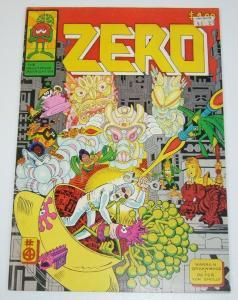 Zero Comics #4 FN (1st) print PETE VON SHOLLY underground comix greenwood 1979
