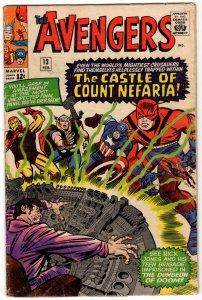 Avengers #13 - 1st App Count Nefaria! Silver Age MARVEL