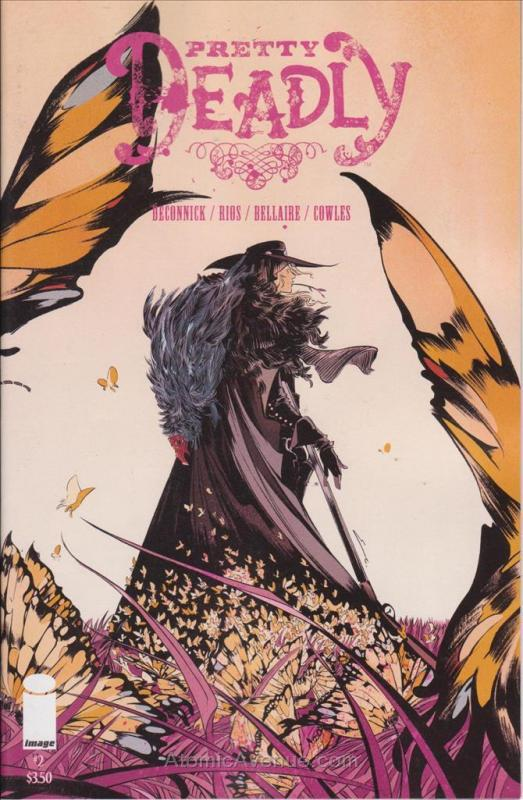 Pretty Deadly #2 VF/NM; Image | save on shipping - details inside