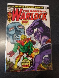 The Power of Warlock Comic Book #7 (Marvel 1972) The Brute~Dr. Doom