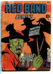 Red Band #3 1945-Captain Wizard-Impossible Man-Bruce Elliott